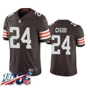 Browns Nick Chubb Brown Jersey